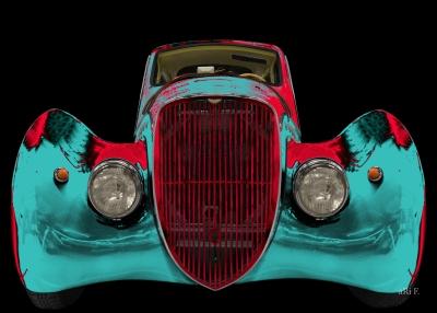 Peugeot 402 Dal Mart Coup 233 1936 1938