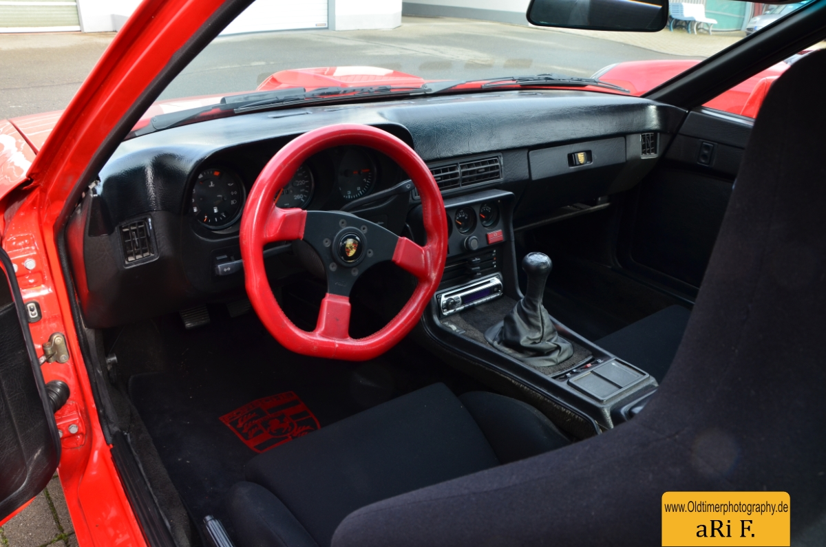Porsche 924 Carrera GTS Interieur | Oldtimerphotography by aRi F.